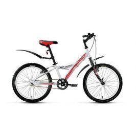 """Велосипед двухколесный Forward Comanche 20"""" белый"""