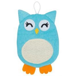 Мочалка-рукавичка Roxy-kids «Baby Owl» махровая