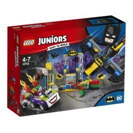 Конструктор LEGO Juniors 10753 Нападение Джокера на Бэтпещеру