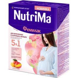 Молочный напиток для беременных женщин и кормящих матерей NutriMa Фемилак со вкусом манго 350 г