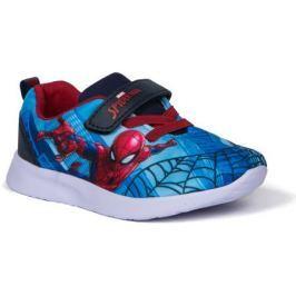 Полуботинки типа кроссовых для мальчика SPIDER-MAN, светло-голубой