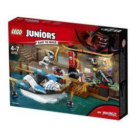 Конструктор LEGO Juniors 10755 Погоня на моторной лодке Зейна