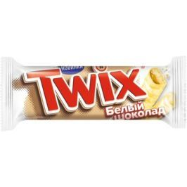 Шоколадный батончик Twix «Белый шоколад» 55 г