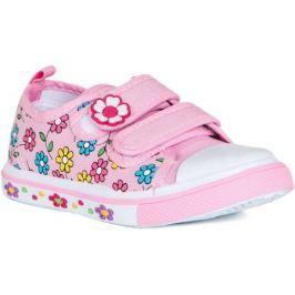Полуботинки типа кроссовых для девочки Barkito, розовый