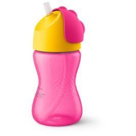 Чашка с трубочкой Philips Avent для девочки с 12 мес. 300 мл