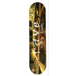 Скейтборд Ase-sport «ASE skateboard-24» деревянный в ассортименте