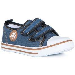 Полуботинки типа кроссовых для мальчика Barkito, темно-голубой