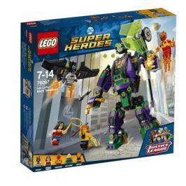 Конструктор LEGO Super Heroes 76097 Сражение с роботом Лекса Лютора