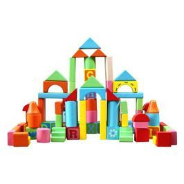 Конструктор деревянный База игрушек «Кубики» 82 дет.
