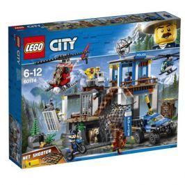 Конструктор LEGO City Police 60174 Полицейский участок в горах