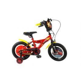 """Велосипед двухколесный Disney «Тачки» 14"""" красно-черный"""