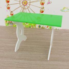 Стол Малина 40x67 см зеленый