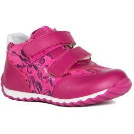 Полуботинки типа кроссовых для девочки Barkito, фуксия