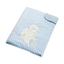 Плед Baby Elite «Ilona» Мишка голубой 120x90 см