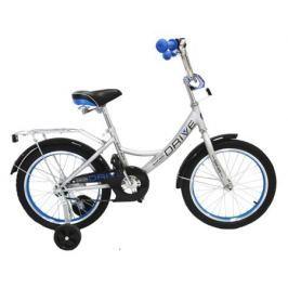 """Велосипед двухколесный Safari proff «Drive» 16"""" серый"""