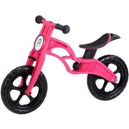 Беговел Pop Bike «Sprint» с бескамерными колесами розовый