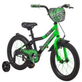Велосипед двухколесный Schwinn «Piston 16» зеленый