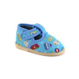 Туфли комнатные малодетские для мальчика Домашки, синие