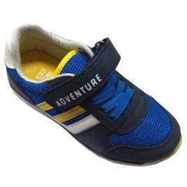 Полуботинки типа кроссовых для мальчика Barkito, темно-синий