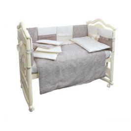 Комплект в кроватку L'Abeille «Amaretti» универсальный 6 пр.