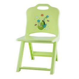 Стул Полимербыт «Joy» раскладной зеленый