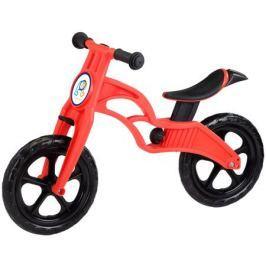 Беговел Pop Bike «Sprint» с бескамерными колесами красный