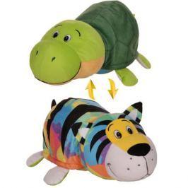 Мягкая игрушка 1toy «Вывернушка. Тигр-Черепаха» 40 см