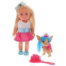Кукла Simba «Еви со стильной собачкой» 12 cм в ассортименте