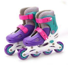 Коньки роликовые Moby Kids (26-29) раздвижные фиолетовые