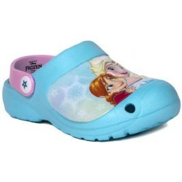 Пантолеты для девочки для кратковременной носки FROZEN, светло-голубой