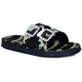 Пантолеты кратковременной носки для мальчика Barkito, сине-зеленые