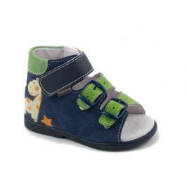Туфли ясельные для мальчика Детский Скороход, синие