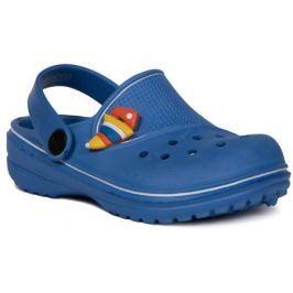 Пантолеты типа «сабо» для кратковременной носки для мальчика Barkito, голубые