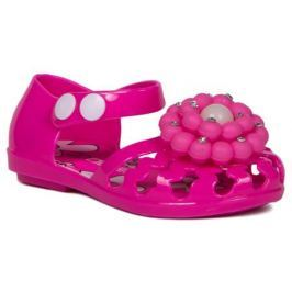 Туфли открытые дошкольные для девочки кратковременной носки Barkito, фуксия