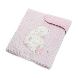 Плед Baby Elite «Ilona» Мишка розовый 120x90 см