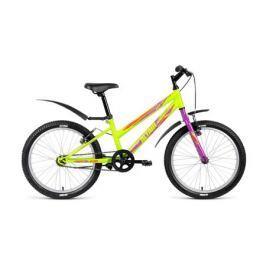 Велосипед двухколесный Altair «MTB HT 20 1.0 Lady» зеленый