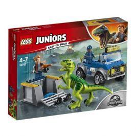 Конструктор LEGO Juniors 10757 Грузовик спасателей для перевозки раптора