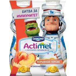 Напиток Актимель Персик с 3 лет 100 мл