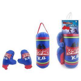 Набор для бокса 1TOY груша и перчатки