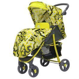 Коляска прогулочная Rant «Kira Plus» Labirint Yellow