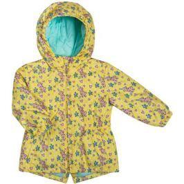 Куртка для девочки Barkito, желтая с рисунком