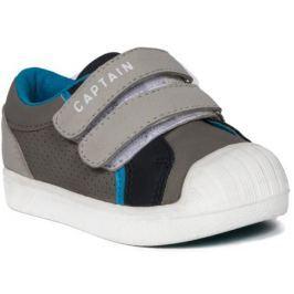 Полуботинки типа кроссовых для мальчика Barkito, светло-серый