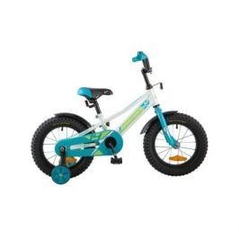 "Велосипед Novatrack Valiant 14"" белый"
