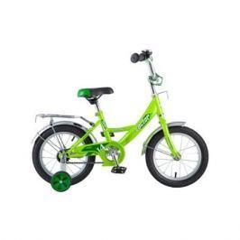 """Велосипед Novatrack Vector 14"""" зелёный"""