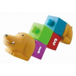 Развивающая игрушка Little Hero «Собачка с кубиками»