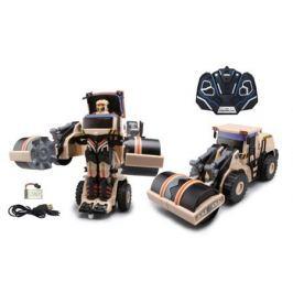Робот-трансформер р/у 1Toy 47 см бежевый