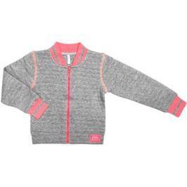 Куртка для девочки Barkito «Спортсменка-1», серая