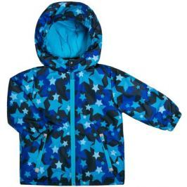 Куртка для мальчика Barkito, темно-синяя с рисунком «звезды»