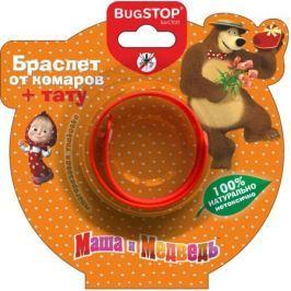 Браслет от комаров BugSTOP «Маша и Медведь» в ассортименте