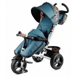 Велосипед трехколесный Small Rider «Discovery CR» зеленый цветок